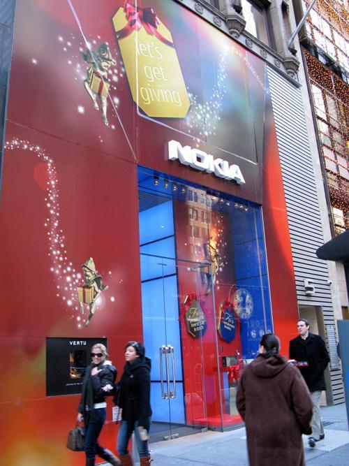 Nokia, New York ve Chicago'daki 2 mağazasını da kapatıyor