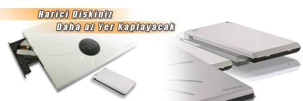 Nu DKC001: Netbook'lar için DVD sürücü, disk kutusu ve soğutucu tek bir cihazda!