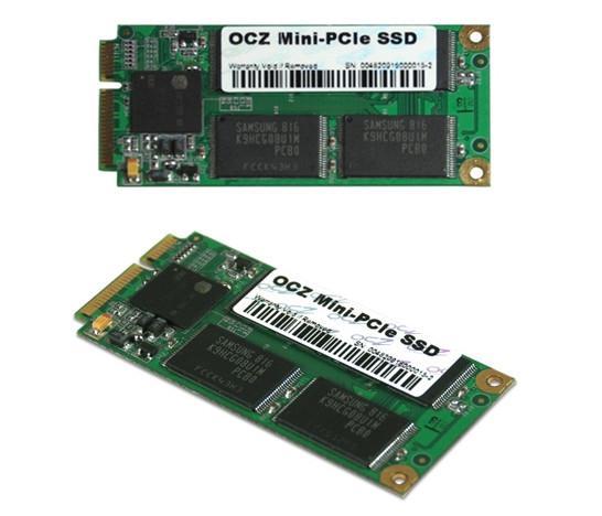 OCZ, netbooklar için Mini PCIe serisi SSD'lerini duyurdu