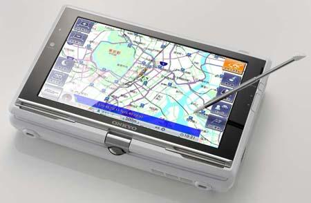 Onkyo'dan dahili GPS'li dokunmatik ekranlı netbook