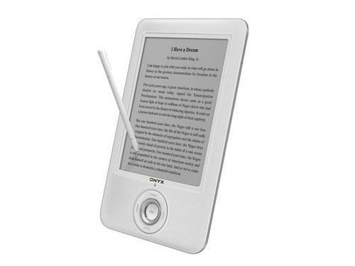 Onxy'den dokunmatik elektronik kitap okuyucusu: Book 60