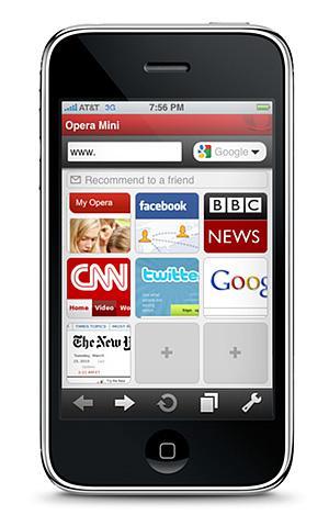 Opera, Opera Mini'nin AppStore başvurusunu yaptı. Artık top Apple'da
