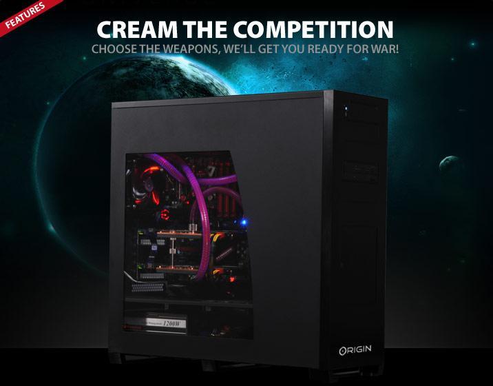 Origin PC'den 4.4GHz'de çalışan Core i7 980X işlemcili ve Fermi SLI donanımlı Genesis