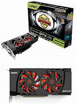 Palit'in özel tasarımlı GeForce GTX 470 ve GeForce GTX 480 modelleri göründü