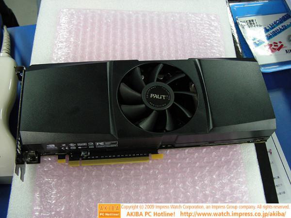 Palit tek PCB'li GeForce GTX 295 modelini kullanıma sunuyor