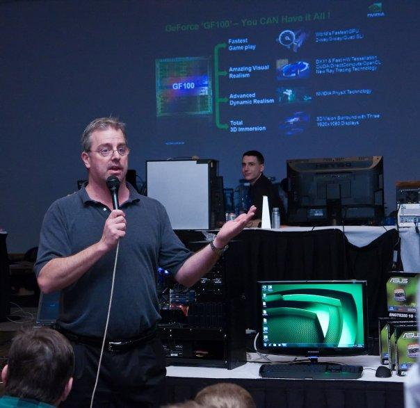 Nvidia: GF100 en hızlı GPU, çift GPU'lu DirectX 11 modeli de yolda!