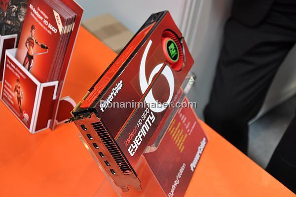 CeBIT 2010: ATi Radeon HD 5870 Eyefinity6 Edition ertelendi