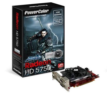 PowerColor Radeon HD 5750 ve Radeon HD 5770 modellerini duyurdu