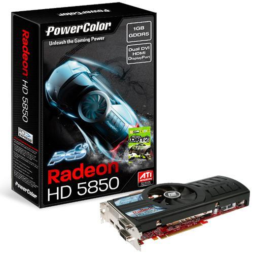 PowerColor özel tasarımlı Radeon HD 5850 PCS+ ve 5870 PCS+ modellerini duyurdu