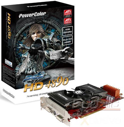 PowerColor özel tasarımlı Radeon HD 4890 modellerini satışa sunuyor