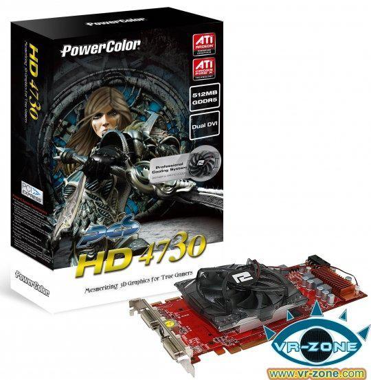 AMD-ATi, Radeon HD 4730 modelini kullanıma sunuyor
