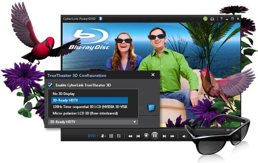 PowerDVD 10, 3D dönüştürme yeteneği ve geliştirilmiş GPU desteği ile geldi