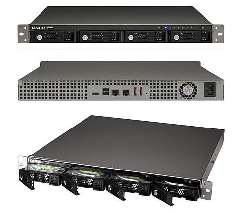 QNAP'tan farklı ihtiyaçlar için raf tipi yeni ağ depolama sunucusu