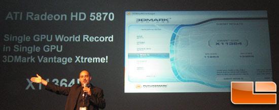 ATi Radeon HD 5870 1250MHz'e çıkartıldı, dünya rekoru geldi!