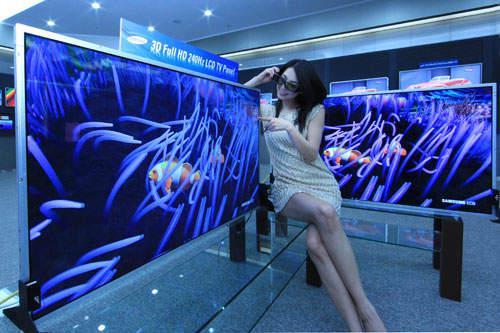 Samsung, dünyanın 3D HDTV üretimine başlayan ilk elektronik firması oldu