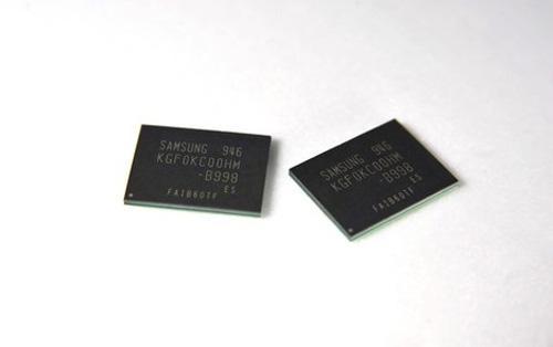 Samsung'dan akıllı telefonlar için 64GB kapasiteli mobil bellek