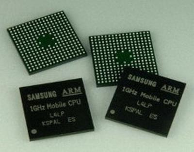 Samsung dünyanın en hızlı ARM Cortex-A8 tabanlı mobil işlemcisini duyurdu