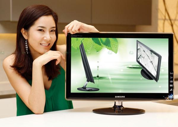 Samsung'dan çevre dostu yeni LCD monitör ailesi; SyncMaster 70
