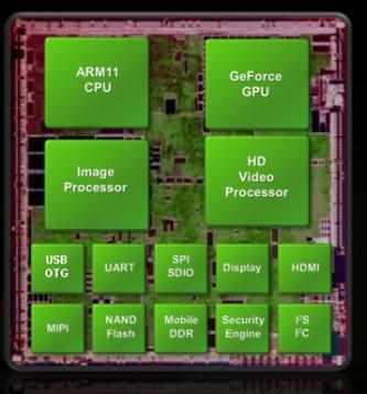 Samsung YP-M1; Tegra tabanlı ilk medya çalar