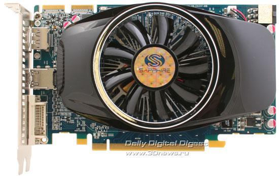 Sapphire özel tasarımlı Radeon HD 5750 512MB modelini duyurdu
