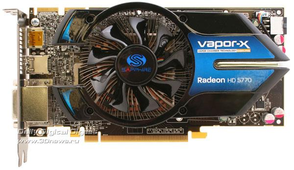 Sapphire Radeon HD 5770 Vapor-X gün ışığına çıktı