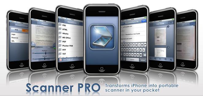 ScannerPro ile iPhone taşınabilir tarayıcı oluyor