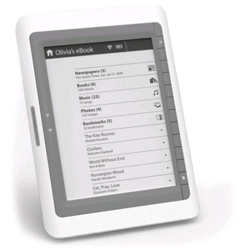 Ambiance Technology'den elektronik kitap okuyucu: Digibook ADB-106