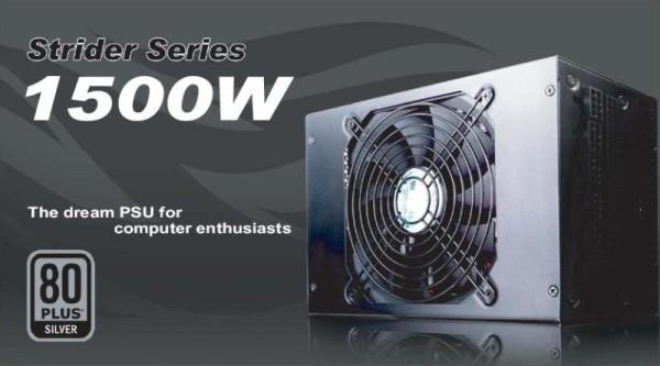 SilverStone 1500 Watt'lık yeni güç kaynağını kullanıma sunuyor