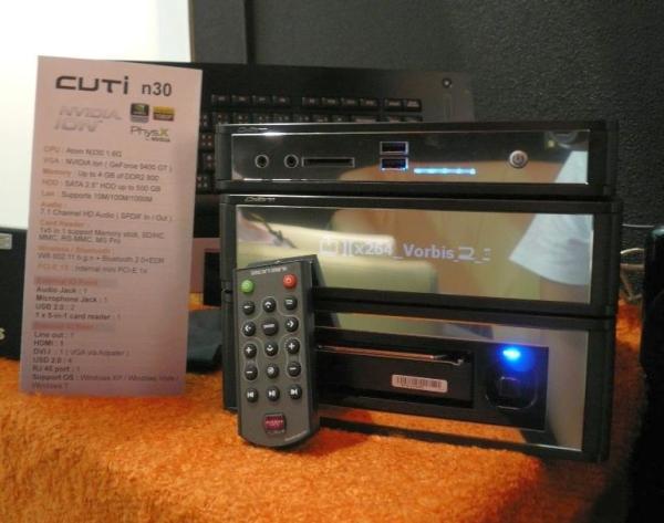 Computex 2009: Sparkle ION tabanlı HTPC sistemini gösterdi