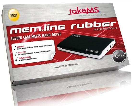 takeMS, mem.line serisi harici depolama sürücülerini duyurdu
