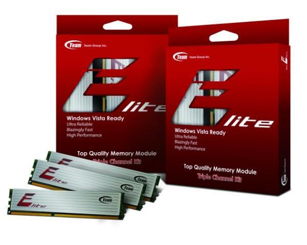 Team Group, Team Elite serisi 3 Kanal DDR3 kitlerini duyurdu
