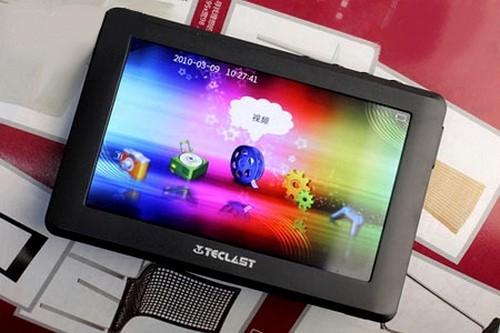1080p video oynatabilen taşınabilir medya oynatıcısı; Teclast C430
