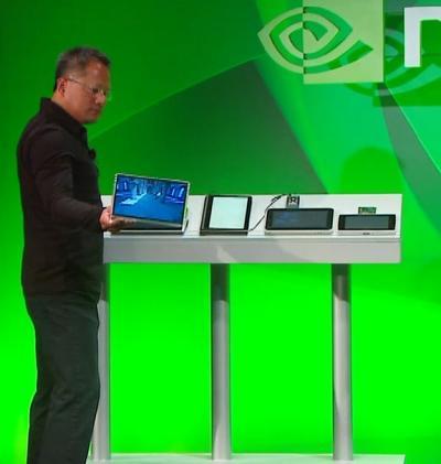 Tablet bilgisayar pazarında Apple'ın gizli rakibi Nvidia olabilir