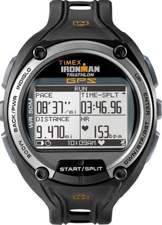 Timex'ten GPS özellikli sporcu saati: Ironman Global Trainer