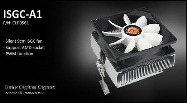Thermaltake'den AMD işlemciler için yeni soğutucu; ISGC-A1