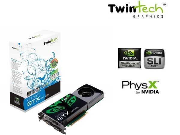 Twintech, GeForce GTX 275 tabanlı yeni ekran kartlarını gösterdi