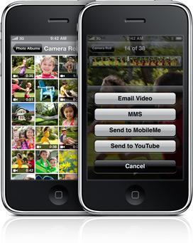 iPhone 3G'e hükmeden ilk telefon:iPhone 3Gs