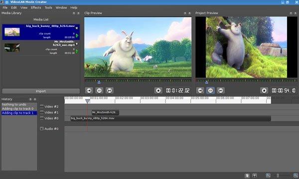 VLC Player'ı geliştiren ekip ücretsiz video düzenleme uygulaması hazırlıyor
