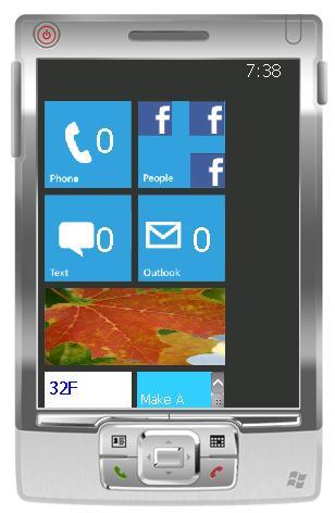 Cep telefonunuza Windows Mobile 7 görünümü kazandırın