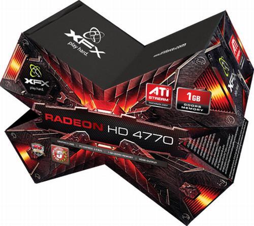 XFX, 1GB GDDR5 bellekli Radeon HD 4770 modelini hazırlıyor