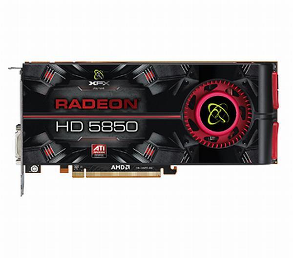 XFX Radeon HD 5850 ve Radeon HD 5870 modellerini kullanıma sunuyor