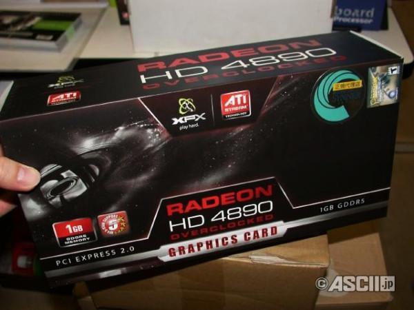 XFX DirectX 11 öncesinde Radeon HD 4890 Black Edition modeli üzerinde duruyor