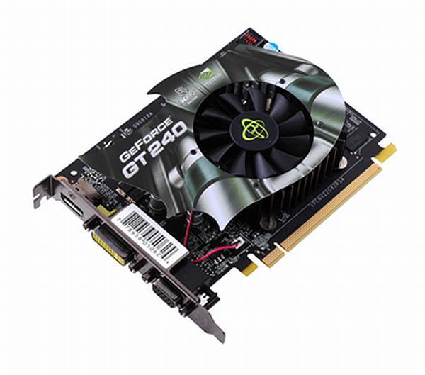 XFX DirectX 10.1 destekli GeForce GT240 modellerini kullanıma sunuyor