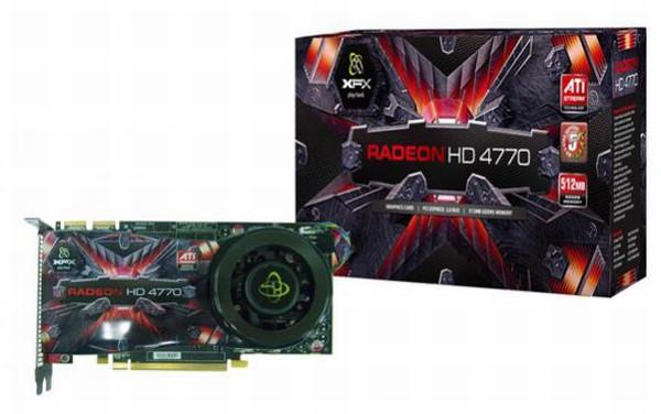 XFX'in premium-referans soğutuculu Radeon HD 4770 modeli göründü