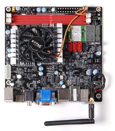Intel'in Atom 330 işlemcisi hız aşırtma ile 2200MHz'e çıkartıldı