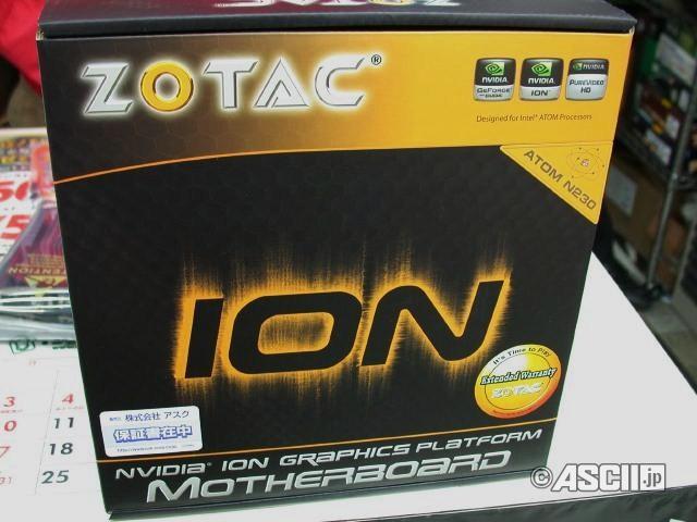 Zotac, Nvidia ION tabanlı Mini-ITX anakartlarını satışa sundu