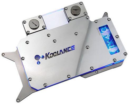 Koolance'dan GeForce GTX 470 ve GTX 480 için su soğutma blokları