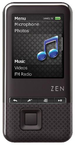 Creative'den yeni medya oynatıcılar: ZEN X-Fi Style ve ZEN Style