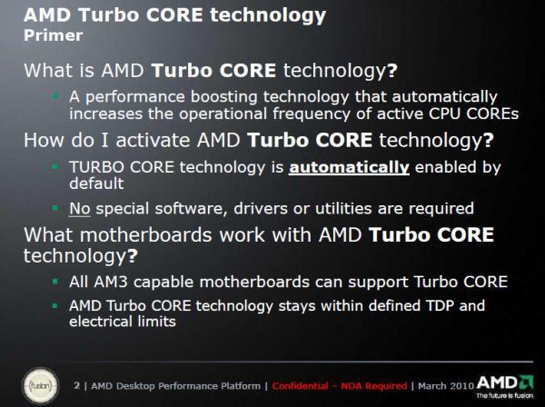 AMD de Turbolandı: Tüm detaylarıyla Turbo Core teknolojisi