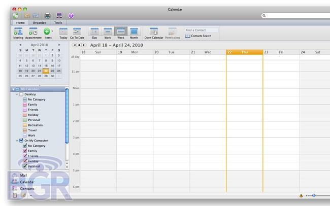 Office for Mac 2011'in yeni ekran görüntüleri ve ilk yorumları internette
